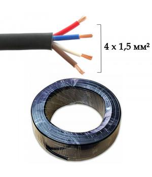 RVV-415 Акустичний кабель 4 x 1,5 мм²