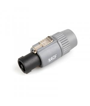 K4CF Спікон 4-контактний