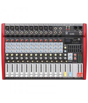 MixMaster ST-122P (USB/SD) Активний мікшерний пульт
