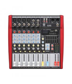 MixMaster ST-62P (USB/SD) Активний мікшерний пульт