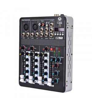 MixMaster T-4 (USB/BT) Мікшерний пульт
