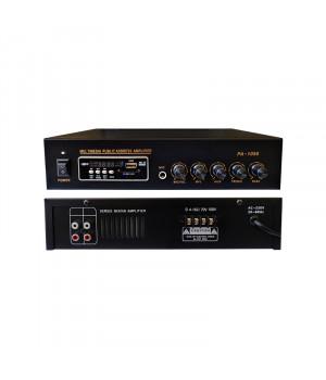 PA-1050 (50 Вт.) Трансляційний підсилювач SD/USB/BT/FM